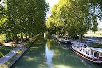 Halte Nautique sur le Canal Lateral a la Garonne a Malause