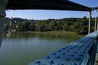 Le pont sur la Garonne entre Espalais et Auvillar