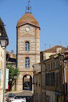La Tour de l'Horloge a Auvillar