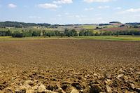 La Plaine depuis le GR65 vers St Antoine sur l'Arrats