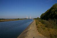 Le canal de Golfech