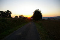 Vers Bernon au petit matin