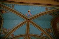 Plafond de L&#39Eglise de Castet Arrouy
