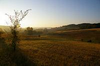 Le vallon de la Teulere au petit matin