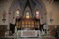 L'Eglise de Marsolan, un orgue grandiose dans le Choeur
