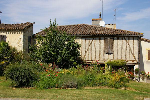 Maison ancienne à La Romieu