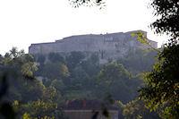 L'Hopital de Lectoure bati sur les fondations du Chateau des Comtes d'Armagnac