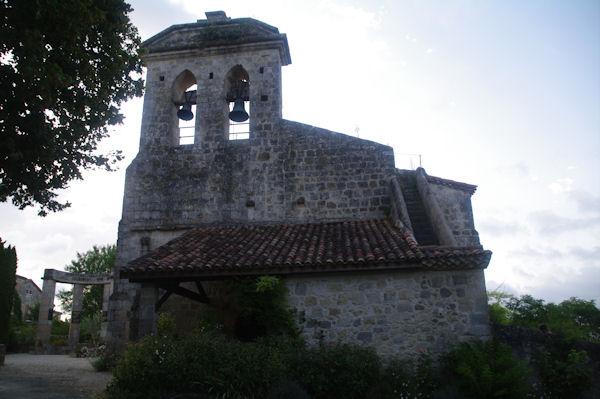 L_église de Castelnau sur l_Auvignon