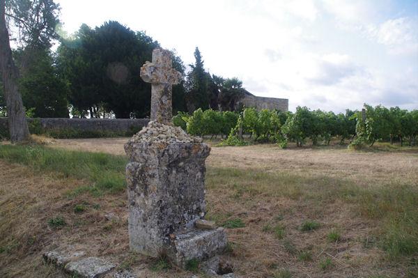 Vers la chapelle Ste Germaine près de Le Baradieu