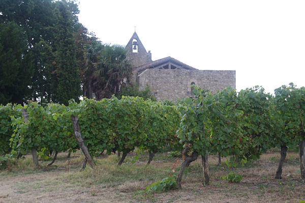 La chapelle Ste Germaine près de Le Baradieu