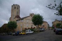 Les clochers de la Collegiale St Pierre de La Romieu
