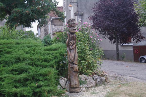 Un pellerin à La Romieu