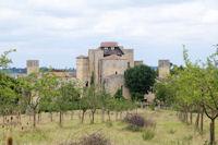 Le village fortifie moyenageux de Larressingle