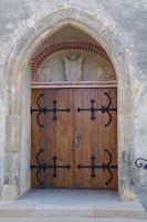 La porte de Notre Dame de Pitie a Manciet
