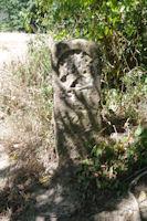 Une borne antique pres de l'eglise de l'Hopital