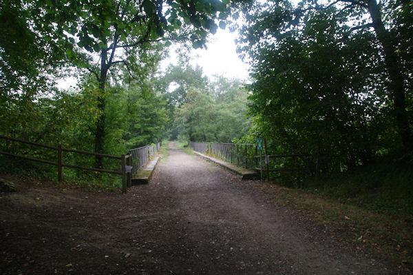 Le pont sur la Gélise