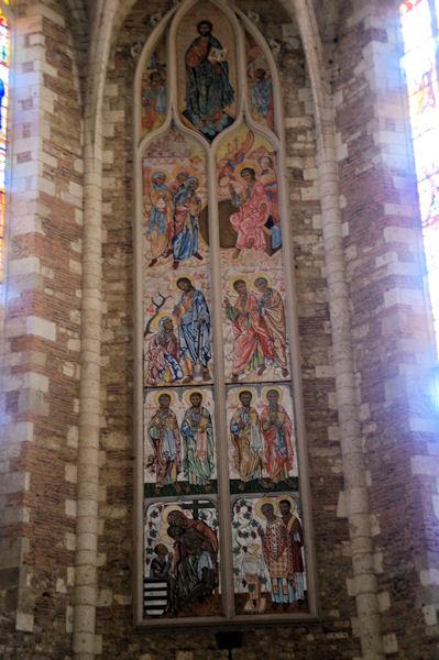 La magnifique nef de la Cathédrale Sainte Luperc