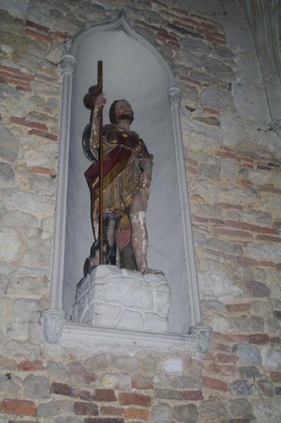 St Roch dans la Cathédrale Sainte Luperc