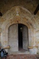 La porte de l'eglise de Lanne - Soubiran
