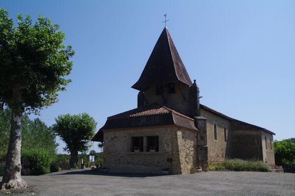 L_église de Lelin - Lapujolle