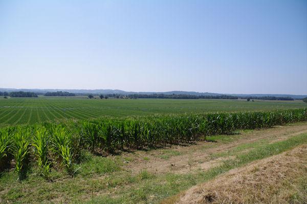 La plaine de l_Adour depuis Manet