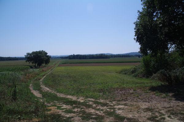 La plaine de l_Adour depuis Sautcot