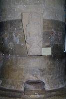 Sculpture romane dans l'eglise St Nicolas de Nogaro