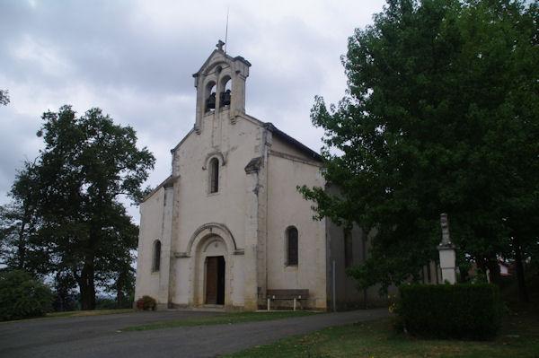 L_église de Miramont Sensacq