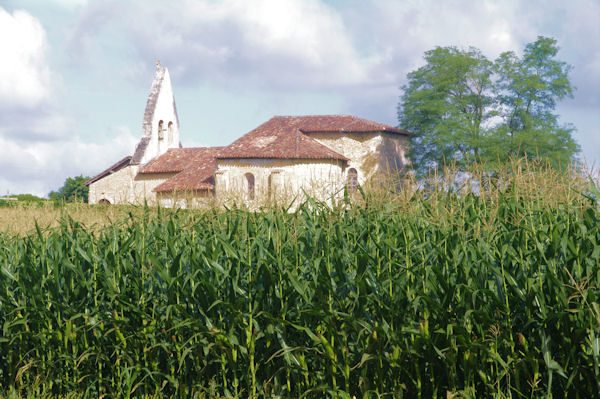L_église de Sensacq