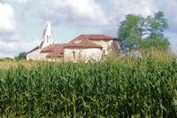 L'eglise de Sensacq