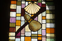 Un vitrail de l'eglise de Louvigny