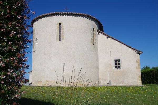 L_église de Fichous Riumayou