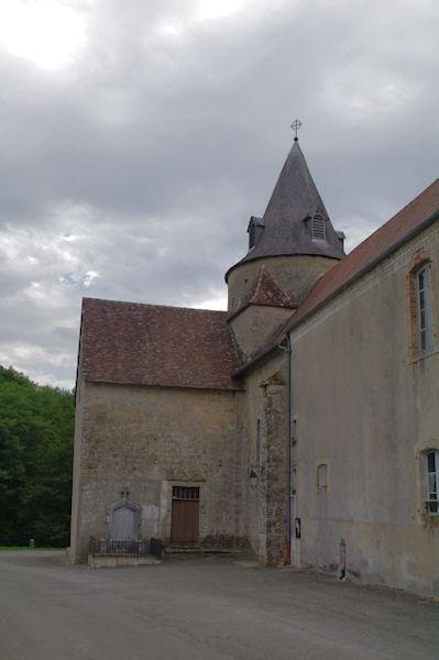 L_église de Sauvelade