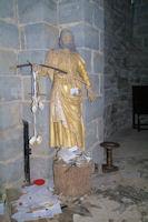 St Jacques dans l'eglise de Sauvelade