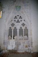 Gisant dans la Chapelle de Caubin