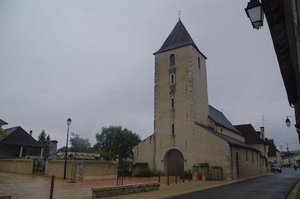 L_église de Méritein