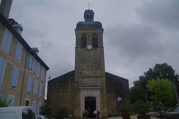 L_église de Navarrenx