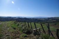 Les Pyrenees depuis au dessus de Linchibiague