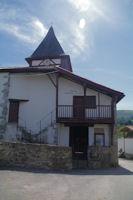 La mairie - eglise de Gamarthe