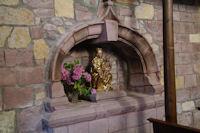 Vierge doree dans l'eglise de St Jean le Vieux