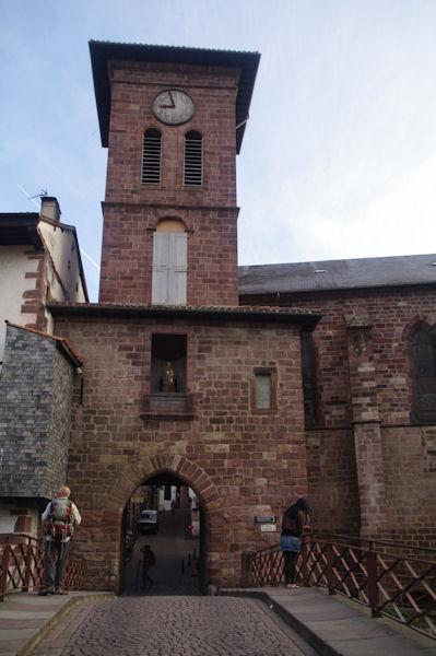 La porte Ouest de St Jean Pied de Port, détail