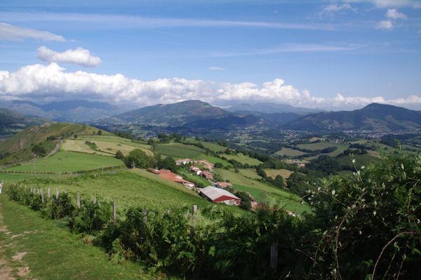 La vallée de la Nive au dessus de Hunto