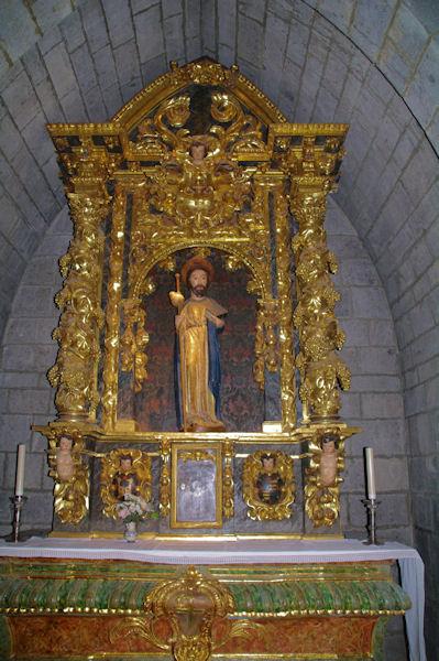 St Jacques dans l'église de Santa María la Real