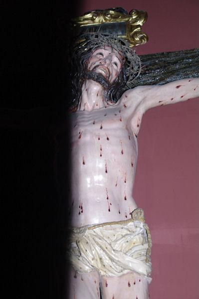 Christ dans l'église de Santa María la Real