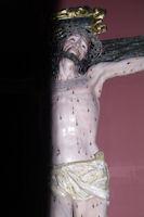 Christ dans l'eglise de Santa María la Real
