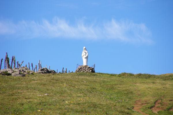 La Vierge en face de Le Royal