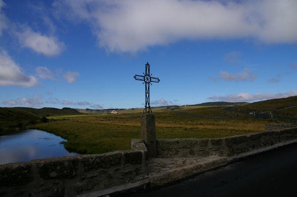 Le pont sur le Bès avant Montgros