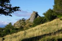 Les ruines du chateau de Belvezet