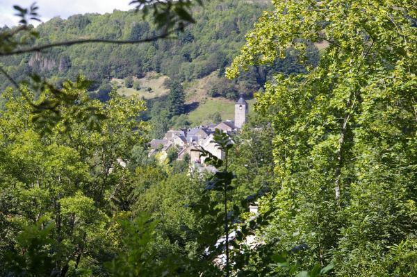 L'arrivée sur St Chély d'Aubrac