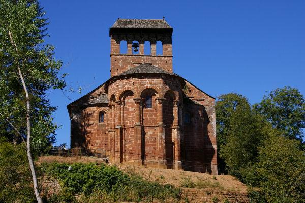 L'église de Perse, avant Espalion
